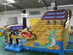 Pirate Ship Bouncer/Slide Combo.